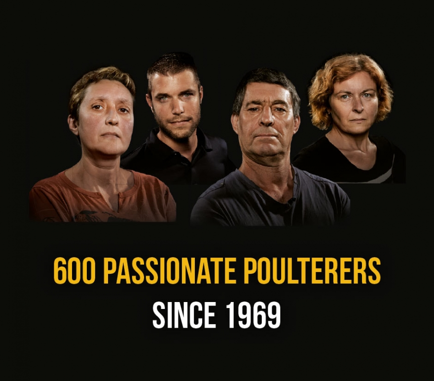 600 passionate poulterers